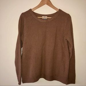 Old Navy Cocoa Brown Scoop Neck Sweater